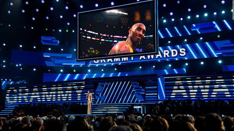 Kobe Bryant fue homenajeado en los Grammy 2020