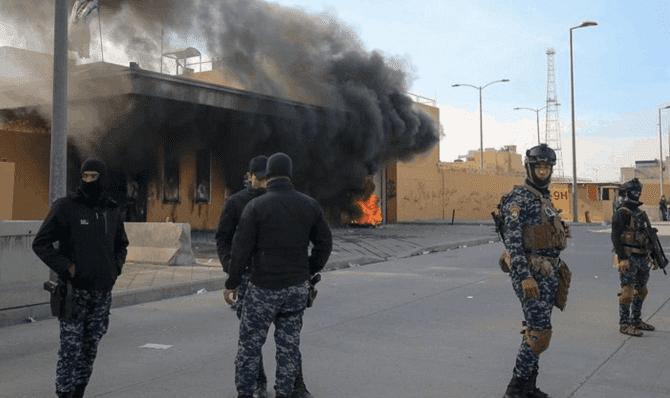 Bagdad: Ataque a embajada de EE.UU. deja un herido