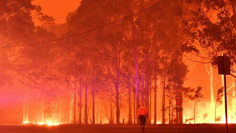 Incendios en Australia: Turistas regresan a casa y propios son evacuados