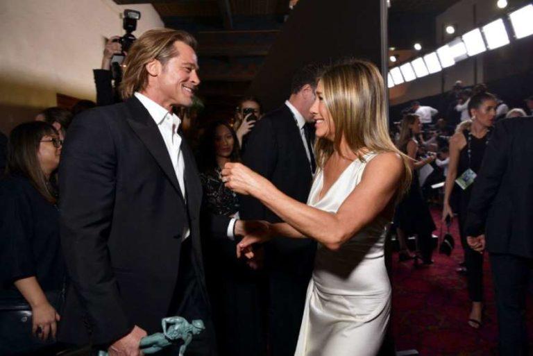 ¡Al fin! Jennifer Aniston habló sobre encuentro con Pitt