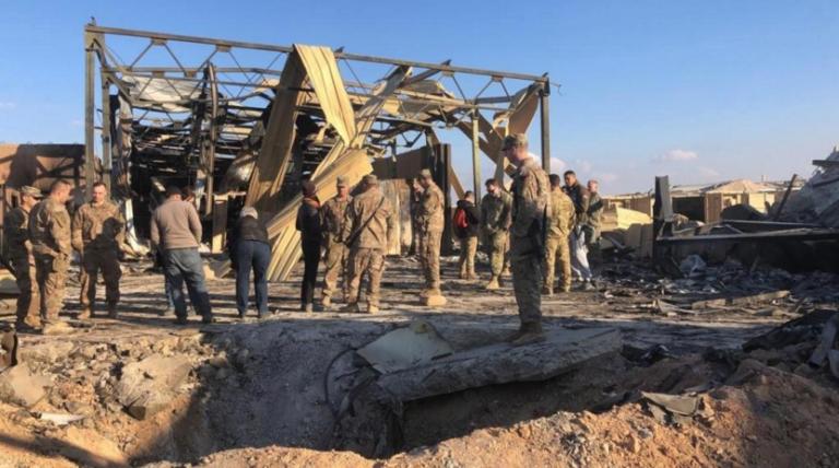 Ataque iraní dejó 11 soldados heridos