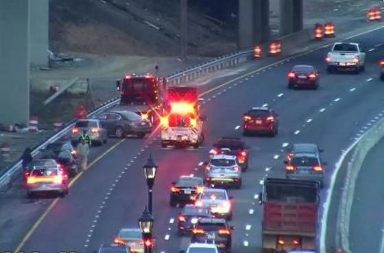 Coalición de vehículo ocasionó retrasos de tráfico