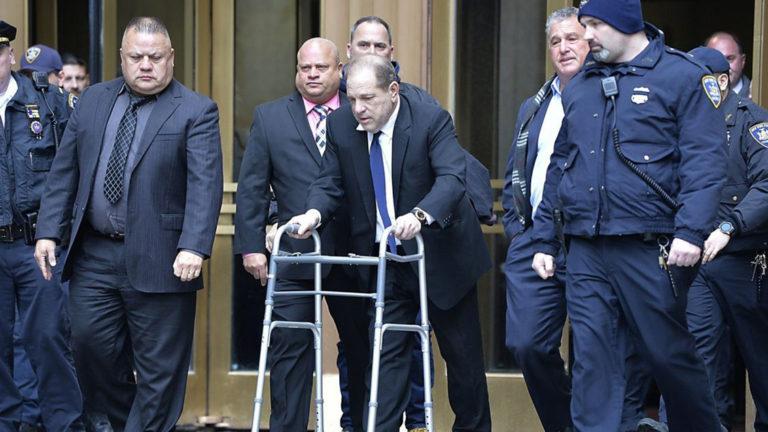 Comienza el juicio de Harvey Weinstein