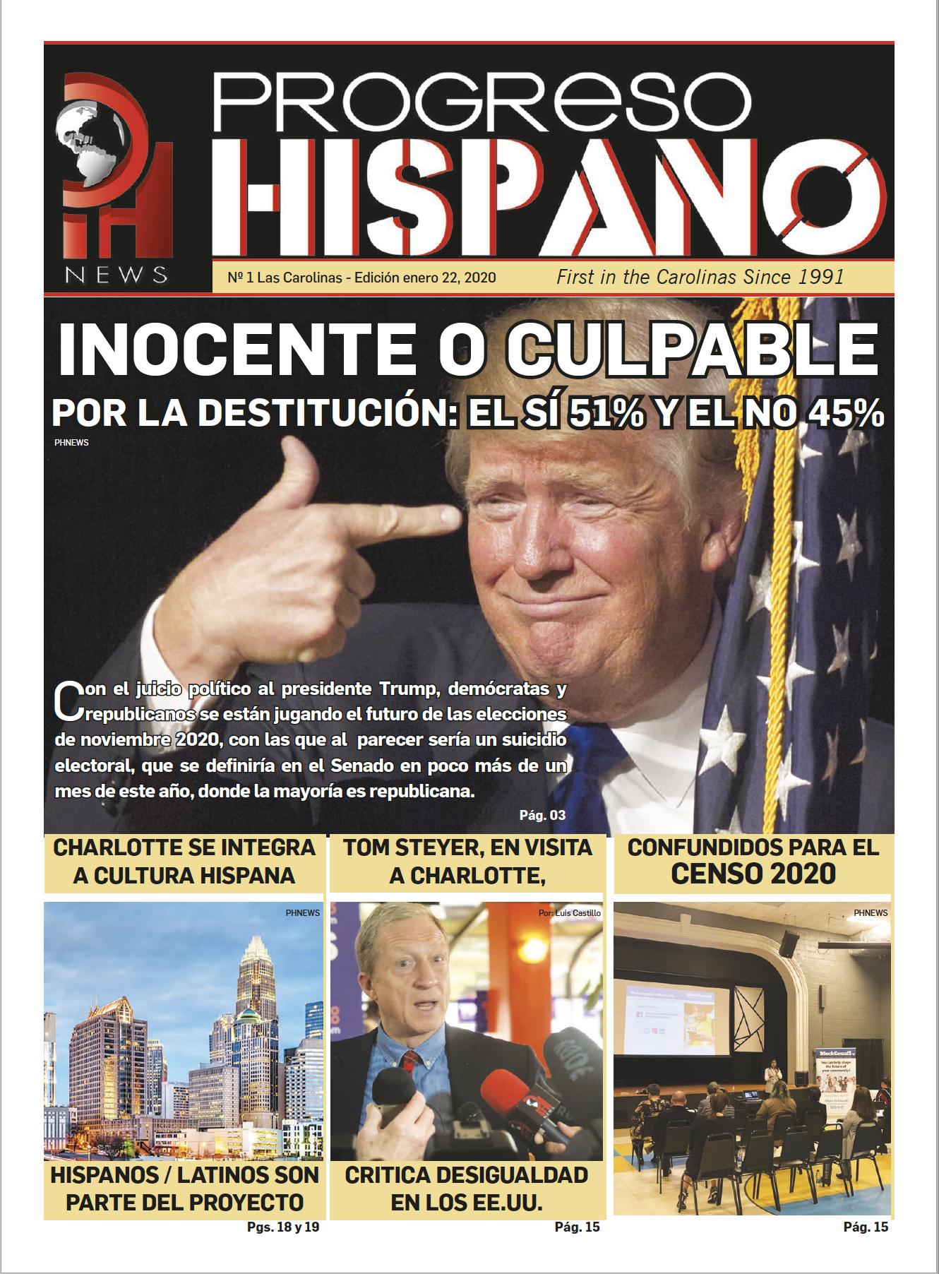 Progreso Hispano News Ed #1 2020