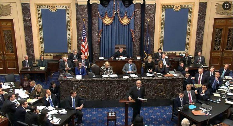 Se acerca el final de fase inicial en juicio político a Trump