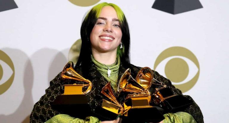 Billie Eilish estará en los Óscar tras arrasar en los Grammy