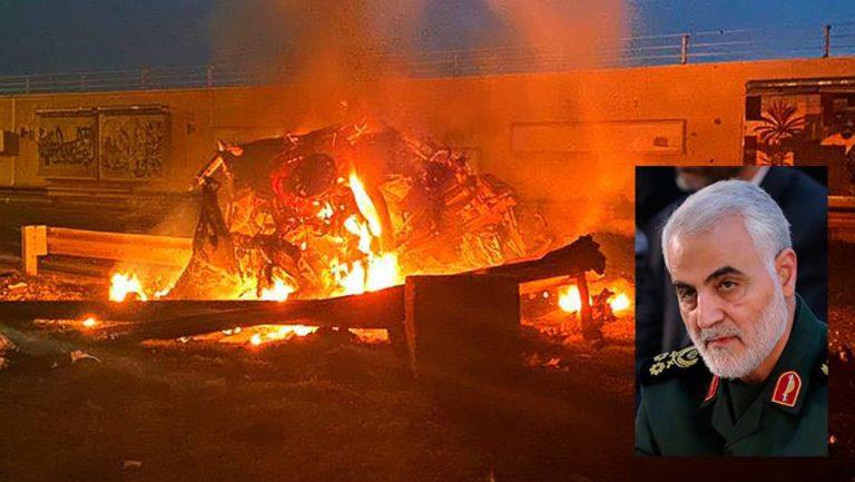EEUU mató a jefe militar iraní Qasem Soleimani