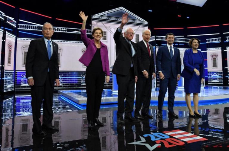 Pocas propuestas en debate demócrata presidencial