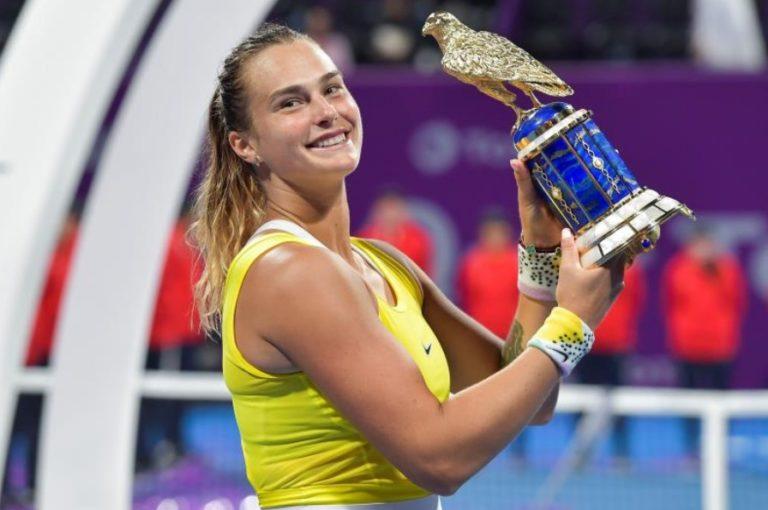 Sabalenka derrotó a Kvitova y se llevó el título de Catar
