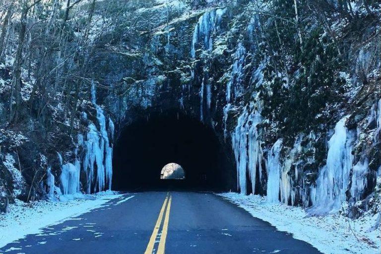 Alerta por granizo en Blue Ridge Parkway