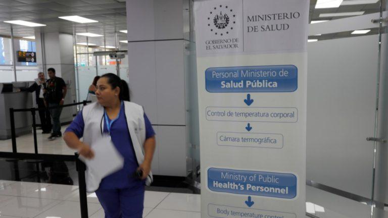 El Salvador filtra ingresos al país por coronavirus