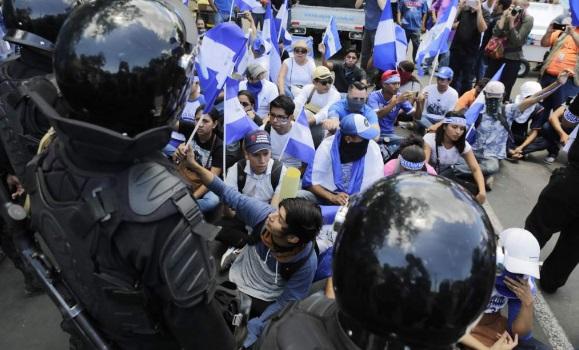 Policía de Nicaragua encerró a políticos opositores