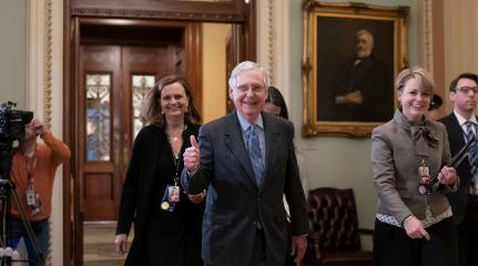 Senado escucha argumentos finales en juicio contra Trump
