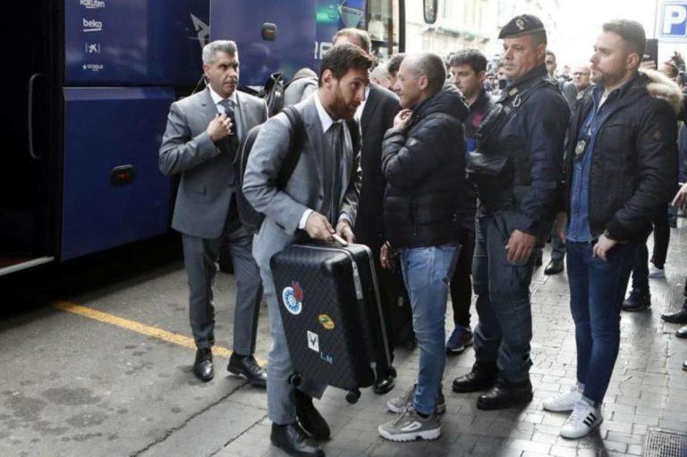 Messi y Barca pasan control por coronavirus en Nápoles