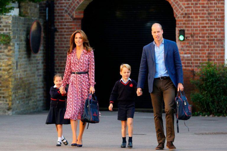 Alerta en colegio de príncipe George y princesa Charlotte