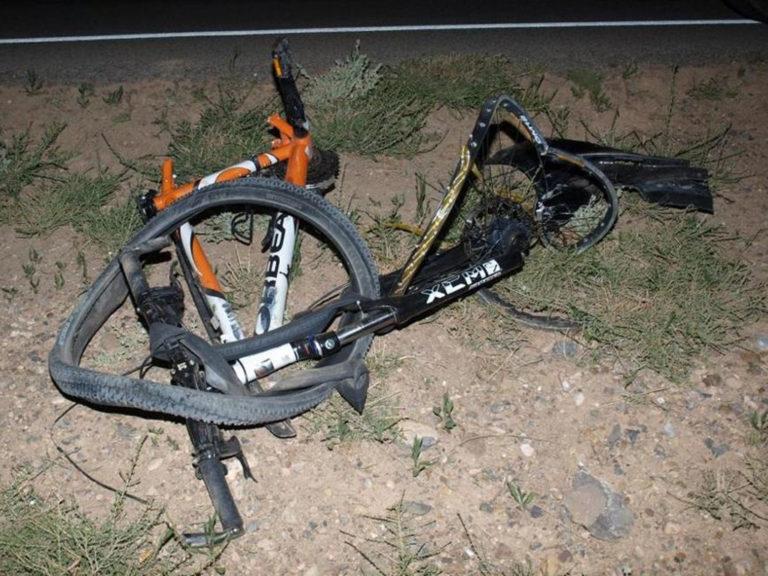 Ciclista murió arrollado en Harrisburg Road