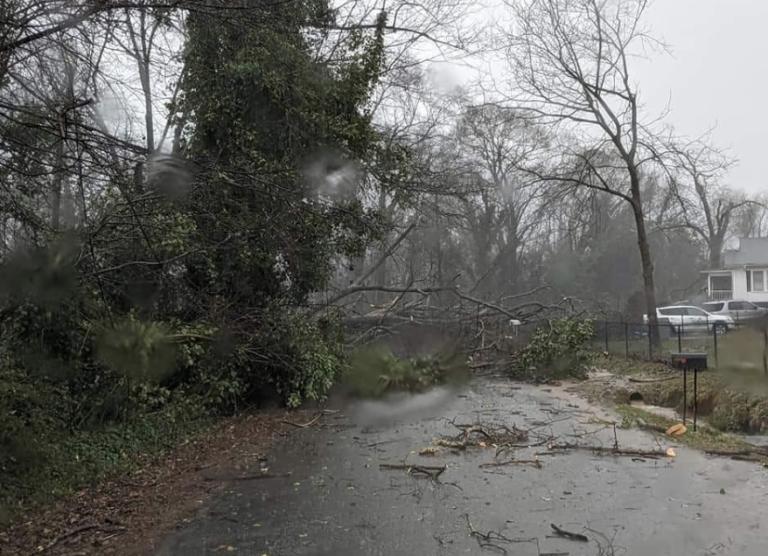 """""""Precaución extrema"""" por ráfagas de viento en Charlotte"""