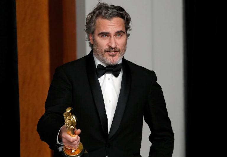 Joaquin Phoenix cumplió la promesa sobre su traje