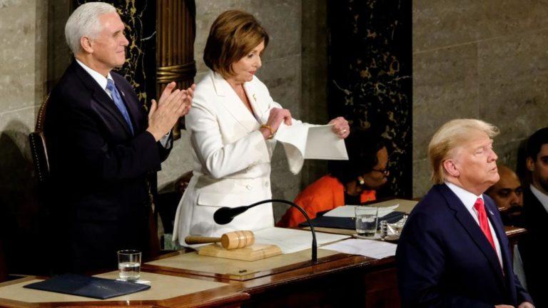 Pelosi-Trump: Choque de poder en el Congreso