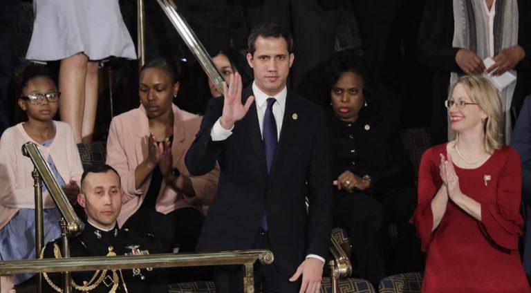 Guaidó se llevó ovación bipartidista en el Congreso