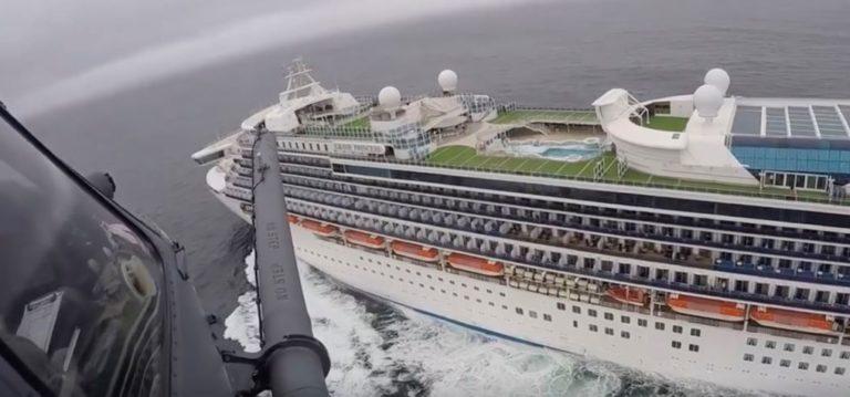 California recibe crucero con 21 casos de COVID-19