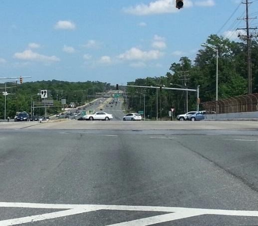 Accidente en Kenilworth Ave retrasó el tráfico