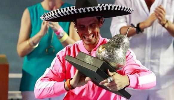 Nadal ganó tercer título en Abierto de México