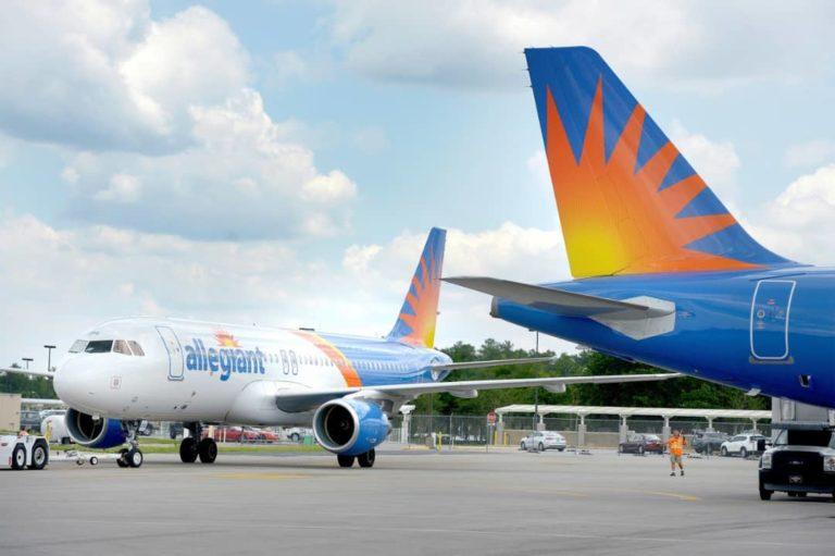 Allegiant Air establecerá base en aeropuerto de Concord