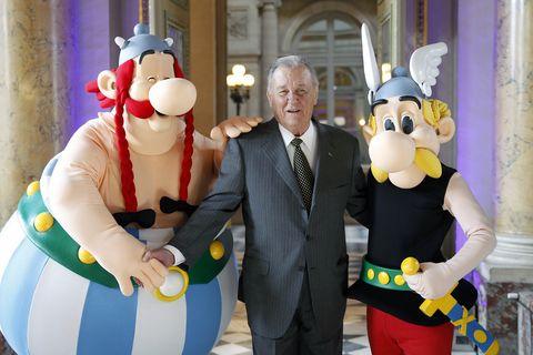 ¡Luto! Adios a Albert Uderzo, el creador de Astérix
