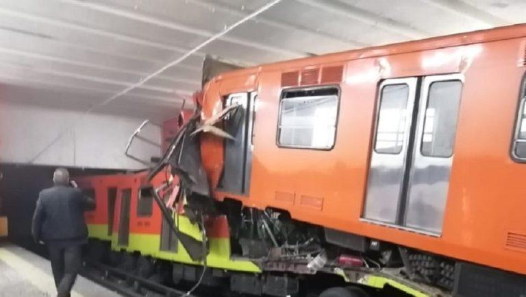 Choque de trenes deja un muerto y 41 heridos