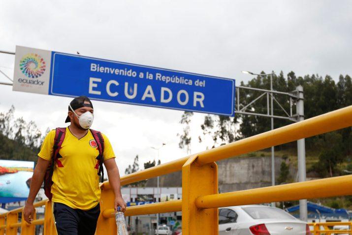 Siete personas contagiadas por coronavirus en Ecuador