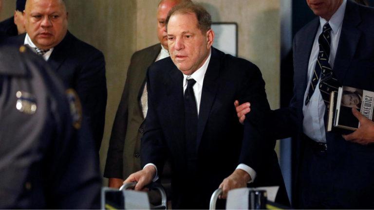 Harvey Weinstein ya está en la cárcel