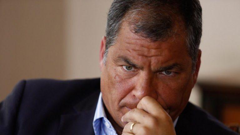 ¡Sentenciado! 8 años de prisión para expresidente Correa