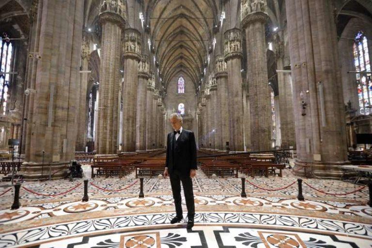 El regalo de Andrea Bocelli al mundo