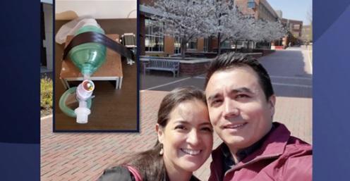 Inmigrantes de NC crean respirador artificial casero