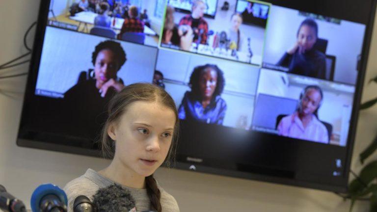 Coronavirus: Thunberg donó $100mil a UNICEF