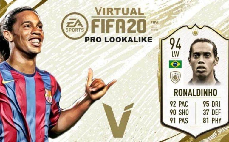 Ronaldinho podría quedar fuera de FIFA 20
