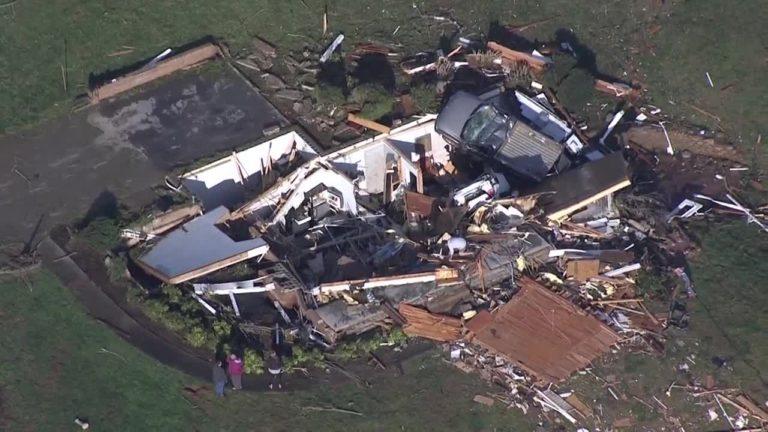 Un muerto por tornado en Carolina del Sur
