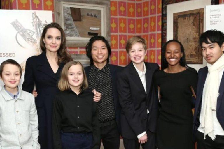 Angelina Jolie y Brad Pitt en cuarentena compartida