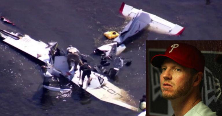 Halladay hacía acrobacias con su avión cuando murió