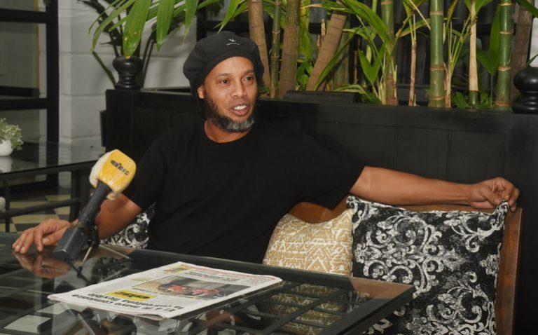 """""""Fue un golpe muy duro"""": Ronaldinho sobre su arresto"""