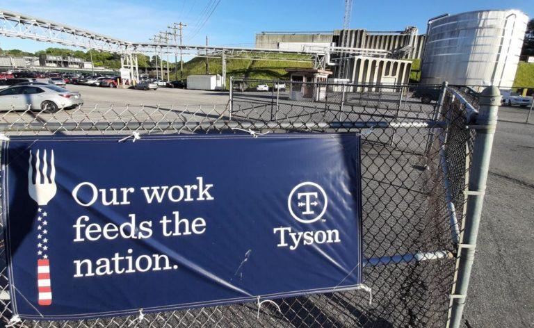 Empelados de Tyson Foods contagiados con COVID-19