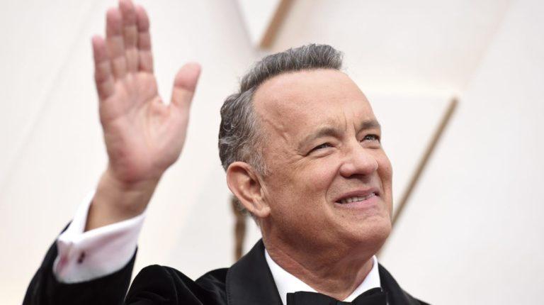 Tom Hanks reaparece en TV tras superar coronavirus