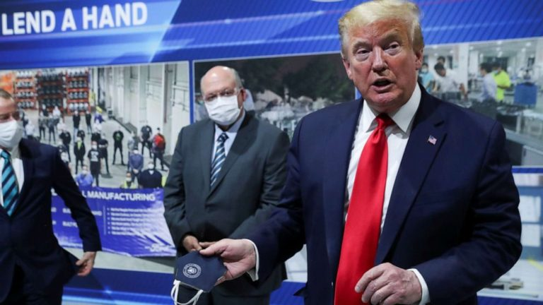 Trump no cerrará el país en una eventual segunda ola de COVID-19
