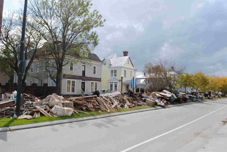 Subvención para recuperar propiedades históricas afectadas por huracanes