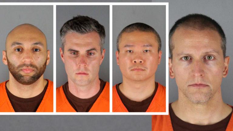 Estos son los cuatro expolicías que enfrentan cargos tras la muerte de George Floyd