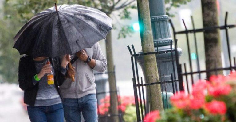 Tiempo: Pronóstico de lluvia para hoy y el resto de la semana