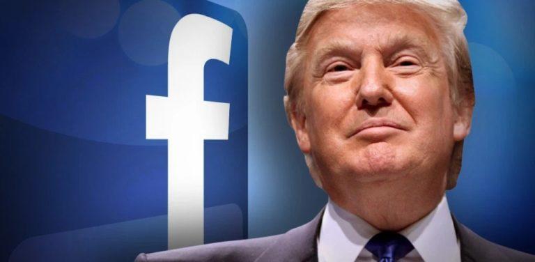 Facebook eliminó mensajes de Trump por violación de política contra el odio