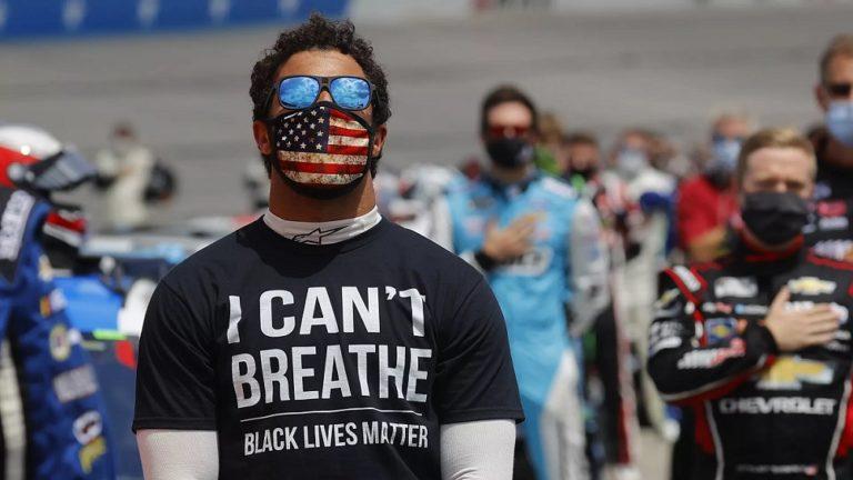 ¡Racismo! Encuentran una soga en box del piloto Bubba Wallace