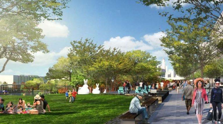 Sitio web revela versión de Central Park en Charlotte